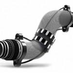 Máquina fotográfica tipo luneta flexível tira fotos em curva