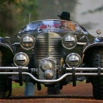 O carro steampunk Hydra Schmidt Coupé do Capitão América
