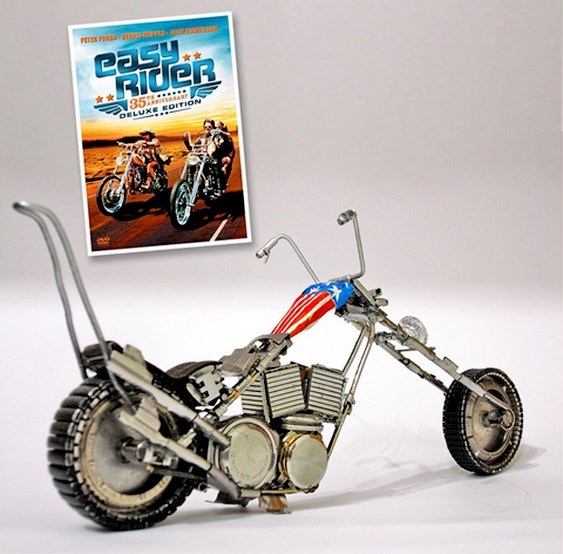Moto Easy Rider miniatura