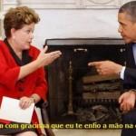 Dilma deu uma 'dura' em Obama na Cúpula das Américas
