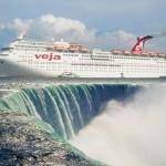 O naufrágio do 'titanic' Veja nas correntezas de Cachoeira