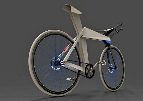 Bicicleta Origami