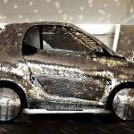 O carro envelopado com a carroceria mais brilhante do mundo