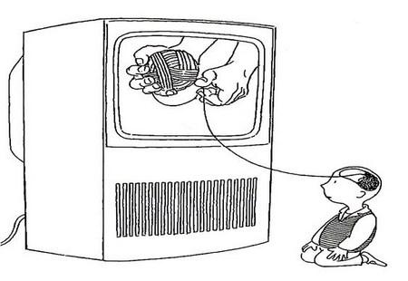 Mente manipulada pela TV