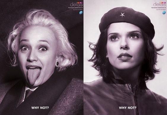 Guevara e Einsten femininos