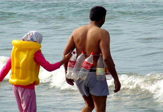 Boia salva-vidas reciclável