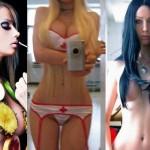 As fotos da 'barbie' Valeria Lukyanova mais nua que existem