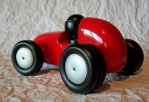 Ferrari Vermelha de brinquedo