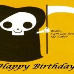 A morte no dia em que se comemora a data de aniversário