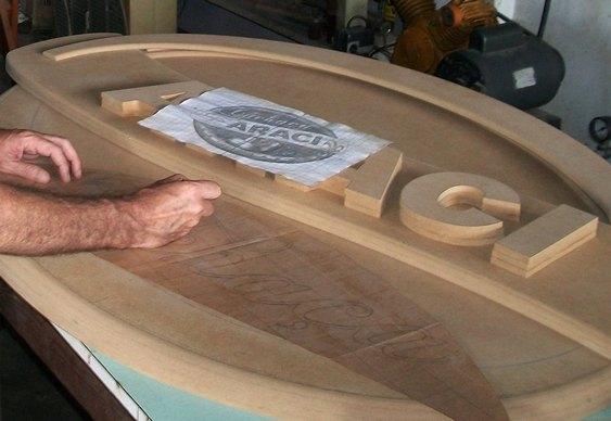 Fábrica letreiros em 3D