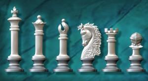 Peças para Jogo de Xadrez