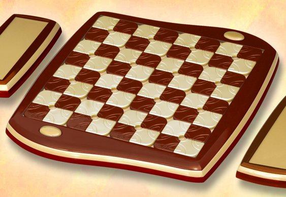 Jogo de xadrez artesanal