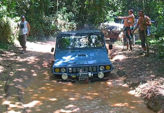 Jeep Engesa na trilha