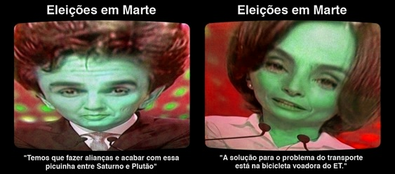 Chalita e Soninha Extraterrestres