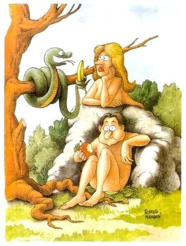 Tentação de Eva com Banana