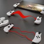 Tablets e iPads com sistema ajustável Gamepad para jogos eletrônicos