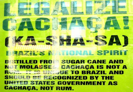 Cachaça - bebida oficial do Brasil