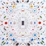 Na Mandala Tecnológica, a arte feita com circuitos eletrônicos