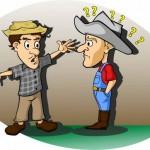 Piada de caipira mineiro: visita inconveniente e fora de hora