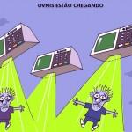 Disco Voador aparece no céu de Três Pontas, em Minas Gerais