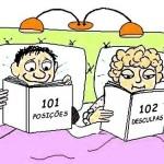 A rotina do sexo no casamento – cartum com piada sobre casais