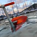 Stingray, um novo modelo de barco inspirado no sistema Segway