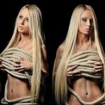 Barbie Sexy! Valeria Lukyanova não tão nua e nem tanto pelada