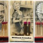 Desenhos e retratos perfeitos em miniatura nas caixas de fósforos