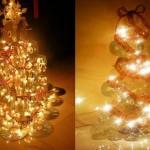 Passo-a-passo para montar uma árvore de Natal com CDs reciclados
