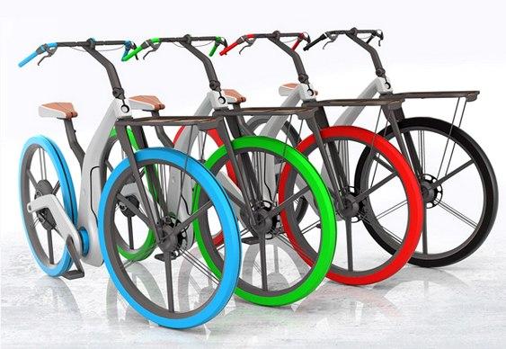 Projeto de moto-bike elétrica
