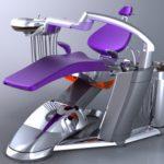 As novas cadeiras de dentistas com design futurista ultra-moderno