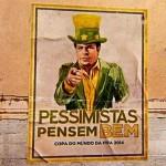 Golaço da Cerveja Brahma contra mídia em comercial da Copa do Mundo