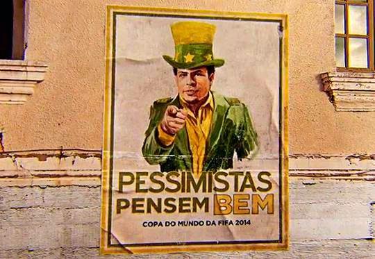 Publicidade de cerveja para Copa do Mundo