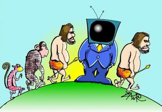 Crítica a programação de TV