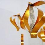 Enfeites de papel reciclado na decoração ecológica de festas e Natal