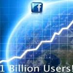 Rede social Facebook já tem mais de 1 bilhão de membros no mundo