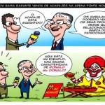 Cordel da Copa do Mundo 2014: FIFA quer rebaixar acarajé baiano