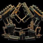 Milhares de armas de fogo recicladas como instrumentos musicais
