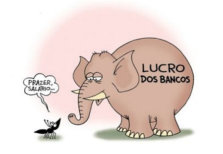 Charge - Lucro dos bancos