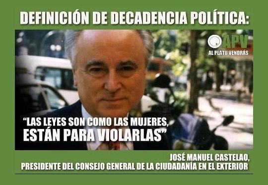 Político espanhol malufista