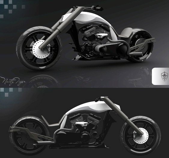 Motocicletas Chopper