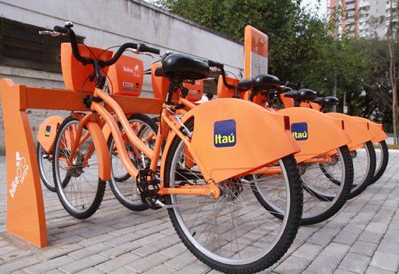 Bicicletas de aluguel Laranjinhas