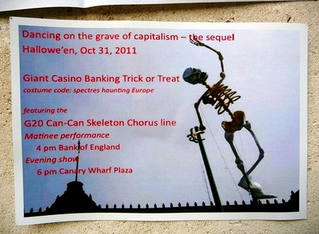 Manifestações contra bancos