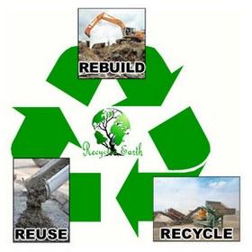 Cimento de obras reciclado