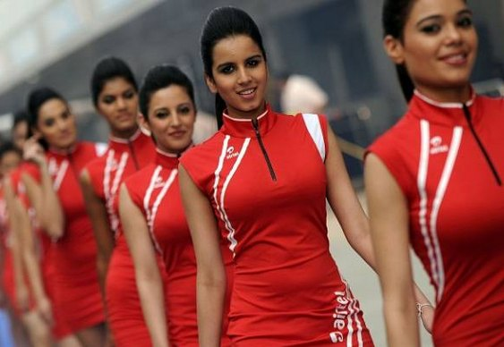 Pit Babes GP F1 India