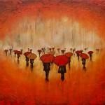 Chuva vermelha como sangue pode cair dos céus na Inglaterra