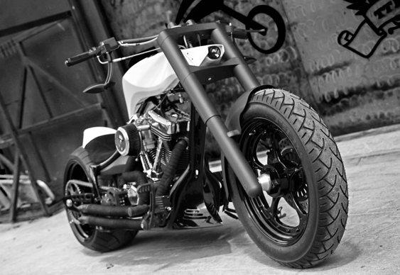 Motocicleta customizada