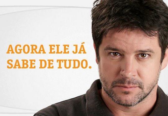 Ator Murilo Benício em comercial da Vivo
