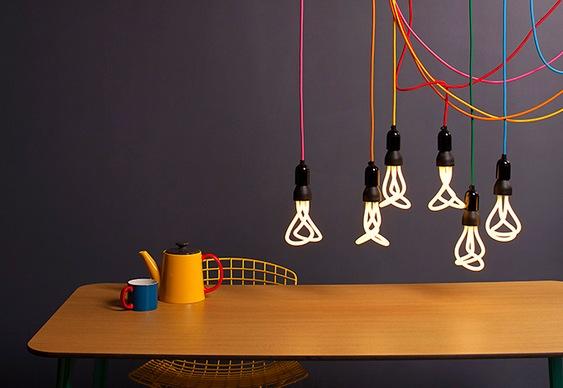 Design de lâmpadas