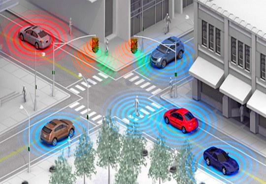 Automóveis interligados